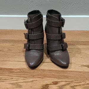 AEROSOLES Shoes - Aerosoles studded buckle ankle booties Sz5